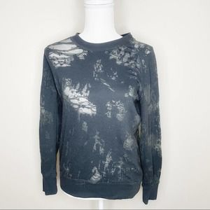 IRO Jeans Gray Blue Distressed Top Size XS